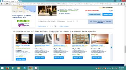 comparativo hoteles madryn
