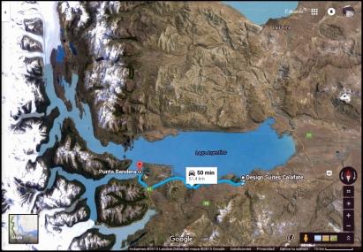 Distancia a Puerto de Punta Bandera