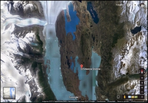 Satelital Glaciar Upsala