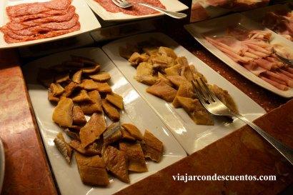 Desayuno Hilton Rome Airport 04