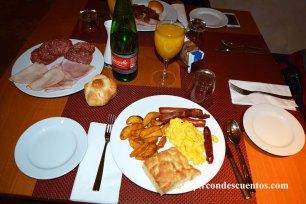 Desayuno Hilton Rome Airport 14
