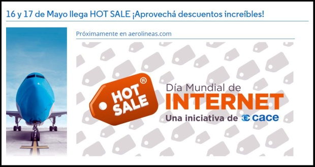 Hot sale Aerolíneas Argentinas