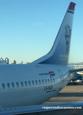 Primer vuelo de NORWEGIAN ARGENTINA