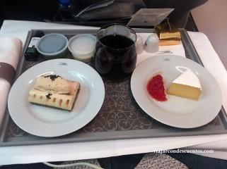 aerolíneas argentinas primer plato